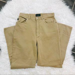 Lauren Jeans Co Soft Highwaisted Khaki Pants